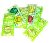 Lifestyles Assorted Colors Premium Lifestyles Latex Condoms