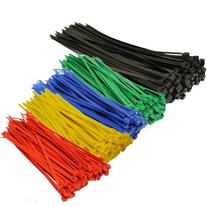 Topzone® Assorted Color Nylon Cable Zip Ties Self Locking,