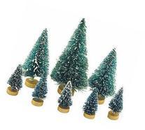 Factory Direct Craft Assorted Size Mini Sisal Trees 32 Pcs