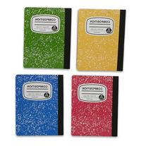4 Pack Assorted 100-Sheet Wide-Ruled Composition Books