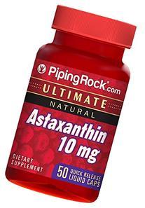 Astaxanthin 10 mg 50 Liquid Capsules