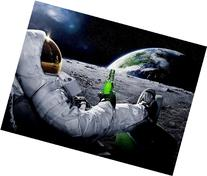Astronaut Moon Cool Carlsberg Advertising 32x24 Print POSTER