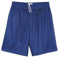 Badger Men's Athletic Cut Mini Mesh Short, Royal Large