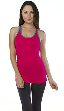 Emmalise Women's Athletic Gym Workout Racerback Tank Top