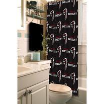Atlanta Falcons Fabric Shower Curtain