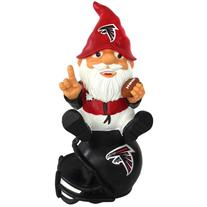 Atlanta Falcons Gnome Sitting on a Logo