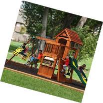 Backyard Discovery Atlantis Cedar Wooden Swing Set