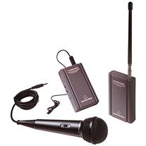 Audio-Technica ATR288W TwinMic VHF Battery-Powered Wireless