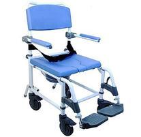 Attendant Shower Transport Chair Bath Toilet Commode