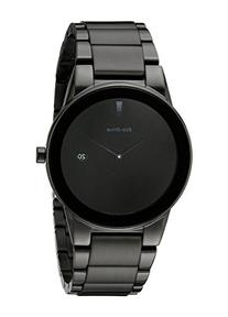 Citizen Men's Eco-Drive Black Ion-Plated Axiom Watch, AU1065