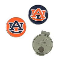 Auburn Tigers Hat Clip and Ball Markers