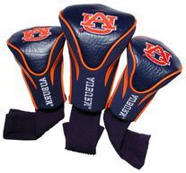 NCAA Auburn Tigers 3 Pack Contour Golf Club Headcover