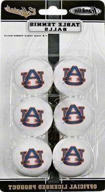 Auburn Tigers Table Tennis Balls