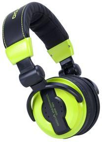 American Audio Hp550 Green Foldable Professional Headphones