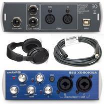 Presonus AudioBox USB 2x2 Interface Bundle with XLR Cable