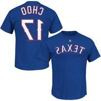 Authentic MLB Texas Rangers Choo, Shin-Soo #17 Player Team T