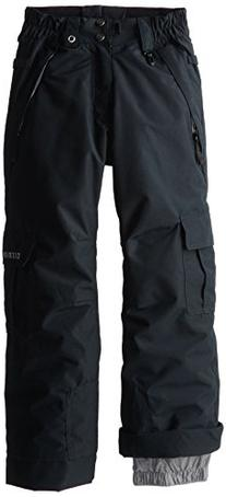 686 Boys Authentic Ridge Pant, Black, Medium