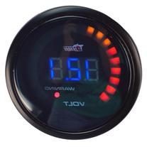 "HOTSYSTEM Auto Car 2""52mm Digital Color Analog LED Volt"