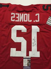 Autographed/Signed Cardale Jones Ohio State Buckeyes