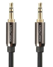 Audio Cable , FosPower Stereo Audio 3.5mm Auxiliary Short