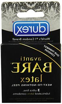 Durex Avanti Bare Latex Condoms 24-Count Box