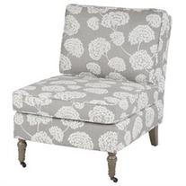 Ave Six Madrid Chair, Light Grey