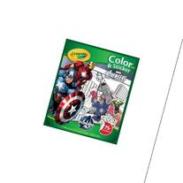 Crayola Avengers Color n Sticker Books Multi-Colored