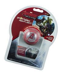 Avengers Projectable LED Night Light, Single Image Battery
