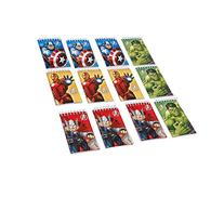 12 Count Avengers Notepads, Mini, Multicolored