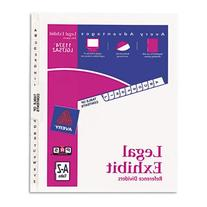 Avery Avery-Style Legal Side Tab Divider, Title: A-Z, Letter