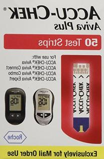 Accu Chek Aviva Diabetic Test Strips - Box of 50