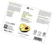 Pure Avocado Oil 16oz.100% Natural Moisturizing Oil and Non-