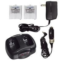 Midland AVP-6 Battery and Charger Pack for Two-Way Radios