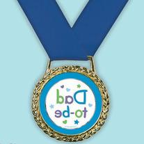 Amscan Delightful Dad To Be Medal of Distinction Baby Shower