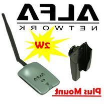 Alfa AWUSO36NH High Gain USB Wireless G / N Long-Rang WiFi