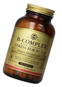Solgar B-Complex with Vitamin C Stress Formula Tablets - 250