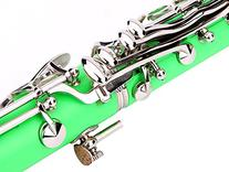 Glory B Flat Clarinet with Second Barrel, 11reeds,8 Pads