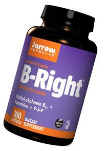Jarrow Formulas B-right Complex, Supports Engery, Brain and
