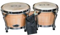 GP Percussion B2 Pro-Series Tunable Bongos 6 & 7 Inch