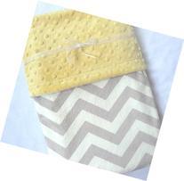 Baby Blanket - Unisex Baby Blanket - Chevron Baby Blanket -