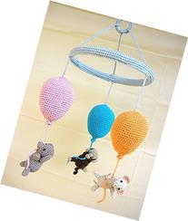 Baby mobile with balloons