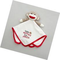 Baby Baby Starters Sock Monkey Snuggle Buddy , Ivory