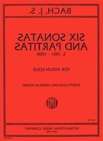 Bach J.S. - 6 Sonatas and Partitas, BWV 1001-1006, Violin