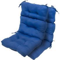 Greendale Home Fashions Outdoor High Back Chair Cushion ,