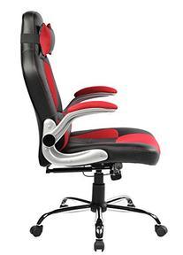 Merax High-Back Ergonomic Pu Leather Office Chair Racing