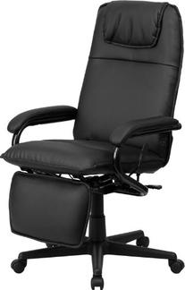High Back Black Leather Executive Reclining Swivel Office