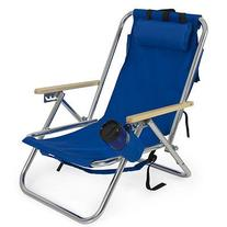 Best Choice Products® Backpack Beach Chair Folding Portable