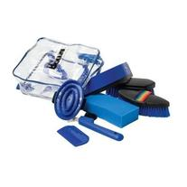 Roma Backpack Grooming Kit - Color:Blue Size:One