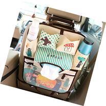 XIQI Backseat Car Organizer,Folding Mummy Shoulder Bag,Kids