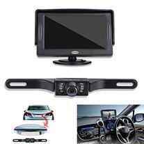 Backup Camera and Monitor Kit For Car,Universal Waterproof